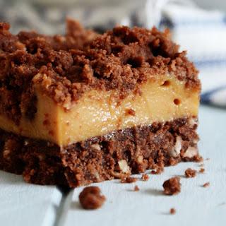 Caramel, White Chocolate and Macadamia Nut Slice
