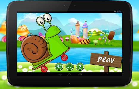 Happy Speed Snail Skateboard screenshot 0