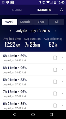 Sleep Time Smart Alarm Clock 1.0.580 screenshot 108338