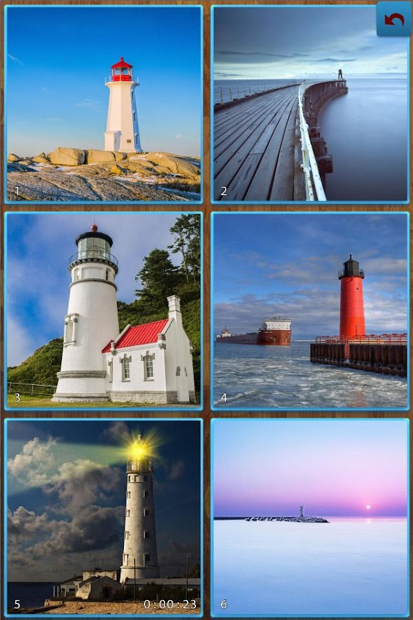 Lighthouse Jigsaw Puzzles- screenshot