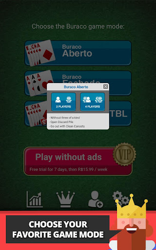 Buraco: Free Canasta Cards  gameplay | by HackJr.Pw 15