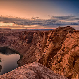 Horseshoe Bend by Stanley P. - Landscapes Travel