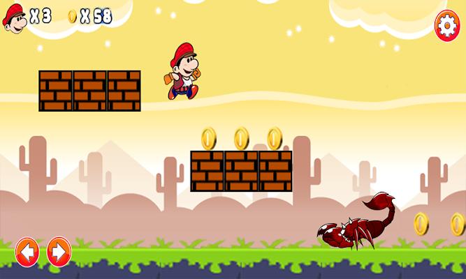 Mario adventure - screenshot
