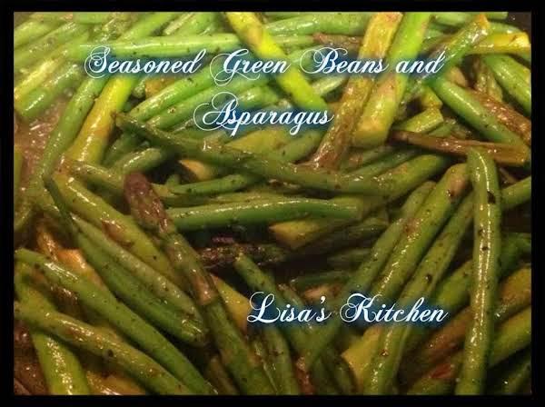 Seasoned Green Beans And Asparagus