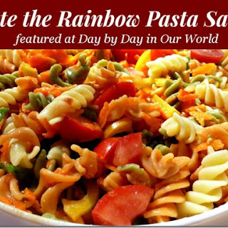 Taste the Rainbow Pasta Salad