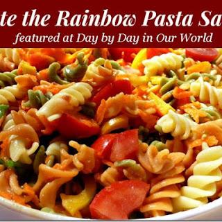 Taste the Rainbow Pasta Salad.