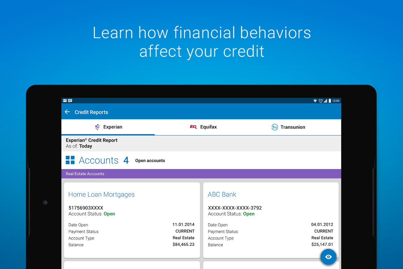 Experian - Free Credit Report- screenshot