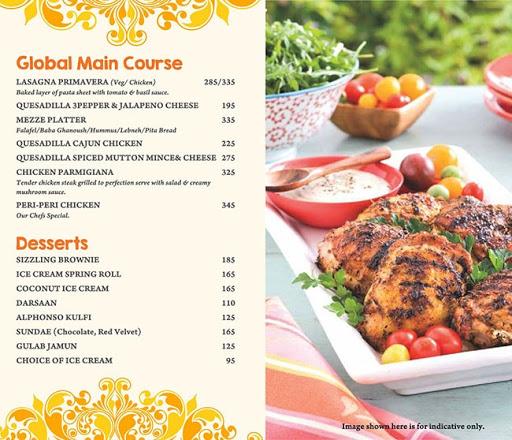Masala Asia menu 7