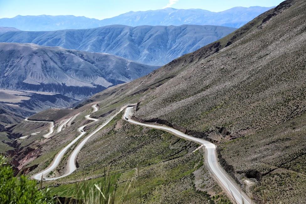 Cuesta de Lipán - Droga z Purmamarca do Salinas Grandes