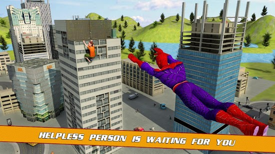 Super Spider Hero City Rescue Games - náhled