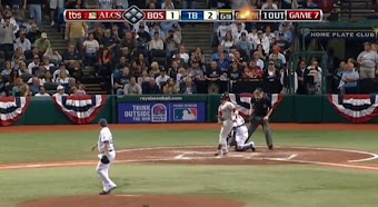 2008 ALCS, Game 7: Red Sox at Rays