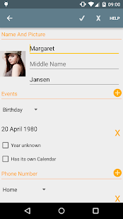 Birthdays - Free- screenshot thumbnail