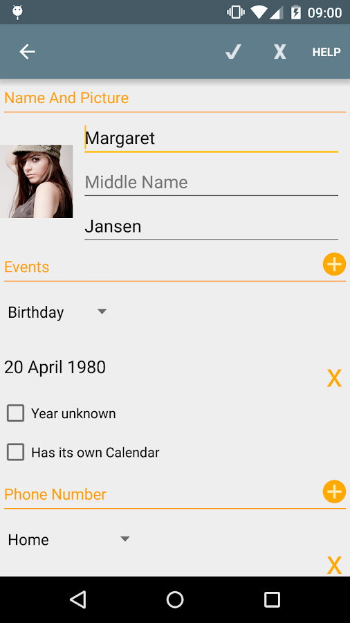 Birthdays - Free- screenshot
