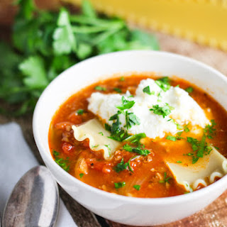 Lasagna Soup - #Kinfolks