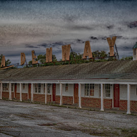 Motel  by Jeff Brown - Buildings & Architecture Decaying & Abandoned ( era, abandoned, motel )