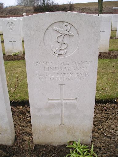 John Lindsay grave