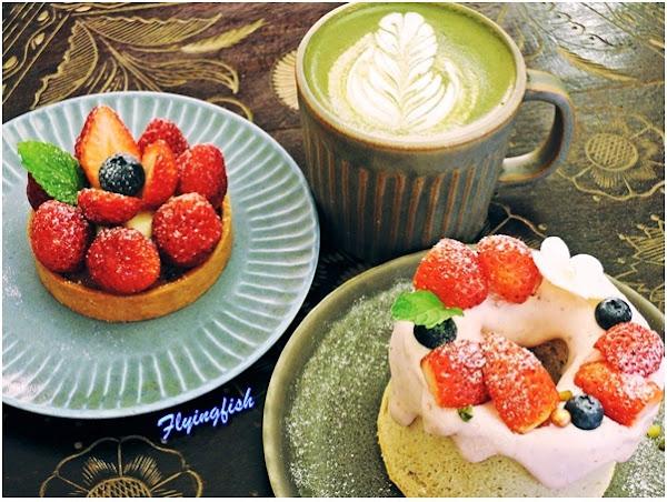 有木之森咖啡館 - 冬季聖果夢幻草莓季和療癒系ㄟ甜點派對 (捷運北門或大橋頭站)