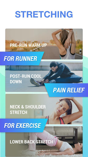 Stretching Exercises - Flexibility Training Fitness app screenshot 1 for Android