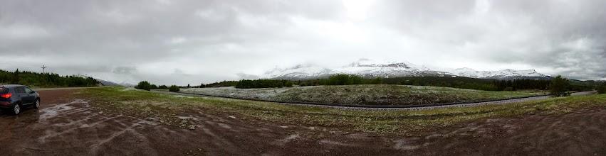 Photo: Looking north at the Glacier range