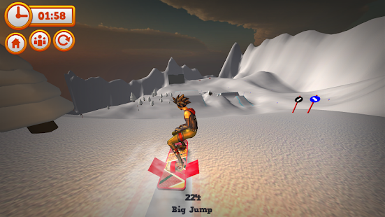 Mad Snowboarding- screenshot thumbnail