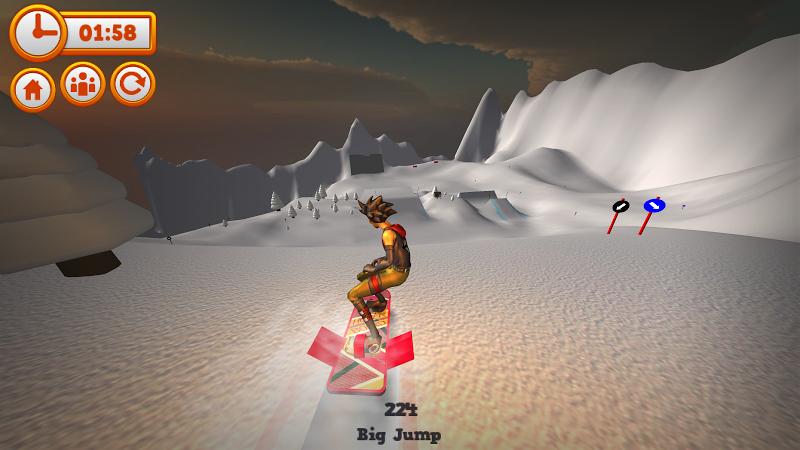 Скриншот Mad Snowboarding