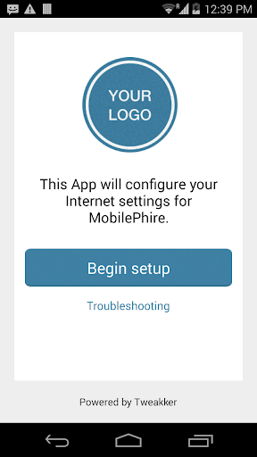 MobilePhire Internet Setup