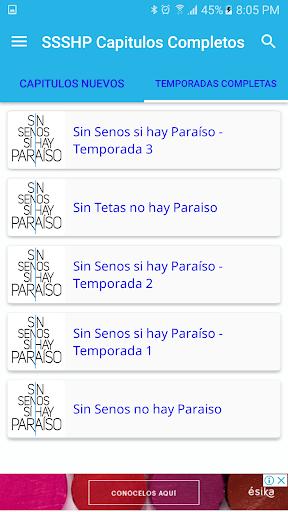Sin senos si hay paraiso Gratis app (apk) free download for Android/PC/Windows screenshot