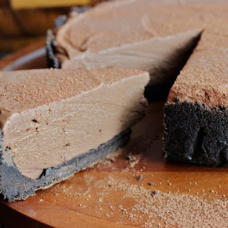 No Bake Chocolate Cheesecake.