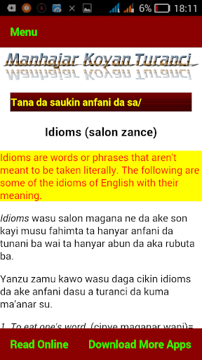 Mu koyi Turanci screenshot 3