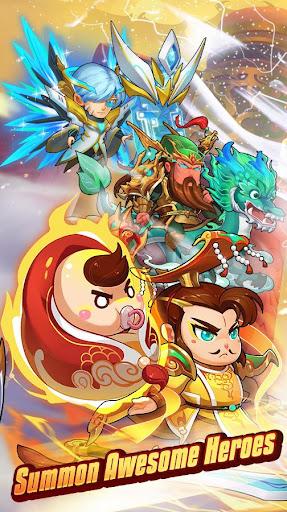Crazy Gods: Strategy RPG  captures d'écran 2