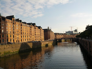 Photo: Back in Hamburg