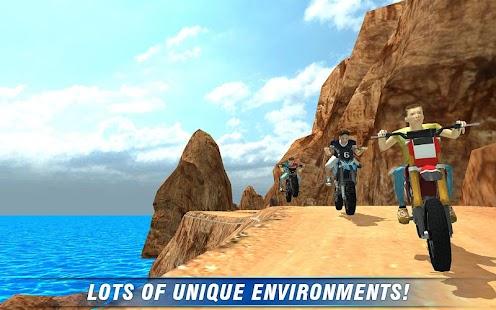 Off Road 4x4 Colina Moto 3D screenshot