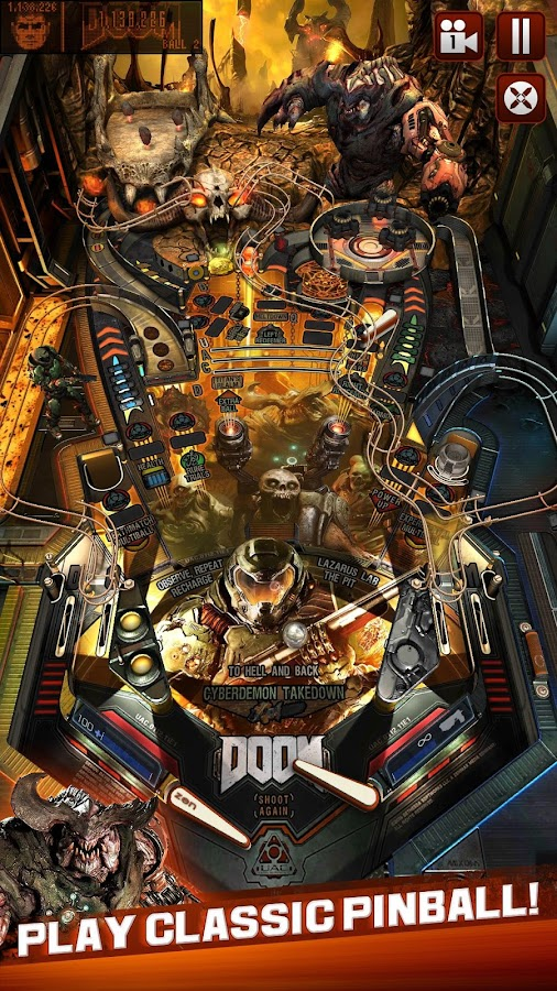 Bethesda® Pinball- screenshot