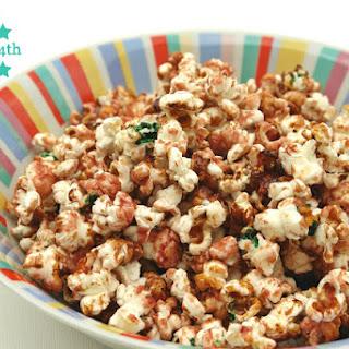 Colorful Caramel Popcorn Recipe