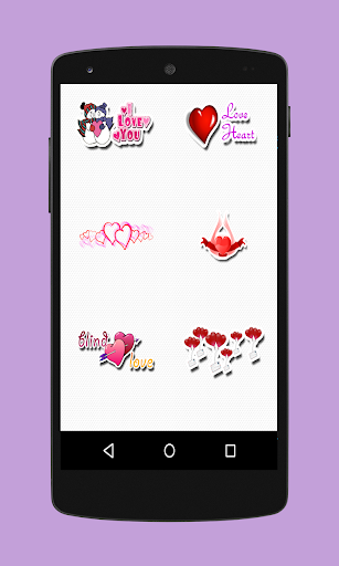 Love Stickers for Facebook