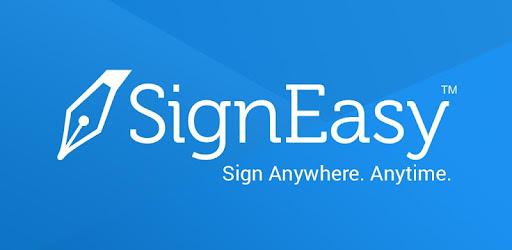 eSignature app to sign PDF, Word documents & more or sending them for signature.