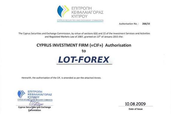 Брокер Lot-Forex: обзор условий торговли, отзывы