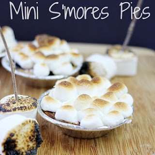 Mini S'mores Pies.