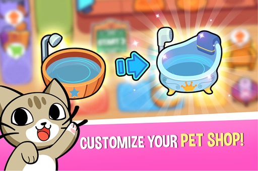 My Virtual Pet Shop - Cute Animal Care Game  screenshots 2