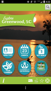 Explore Greenwood SC- screenshot thumbnail