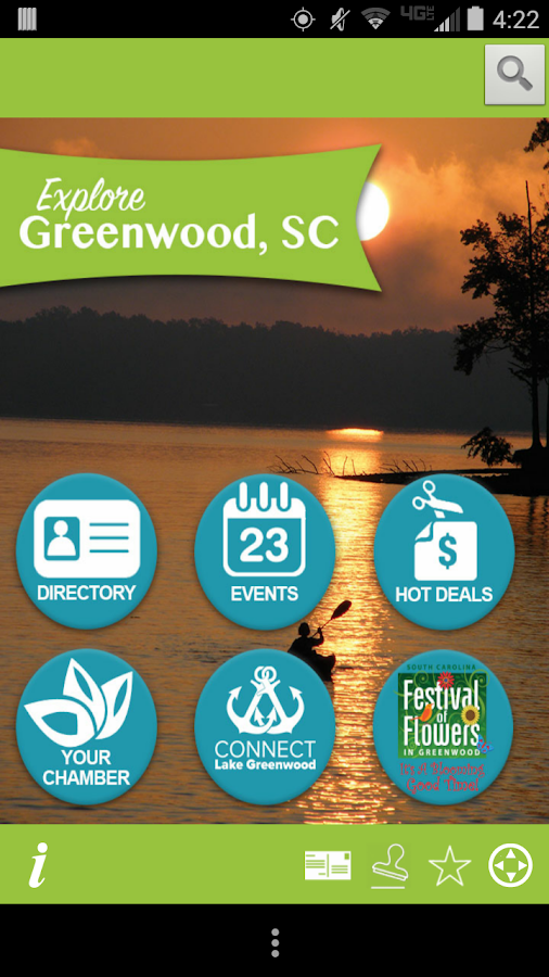 Explore Greenwood SC- screenshot