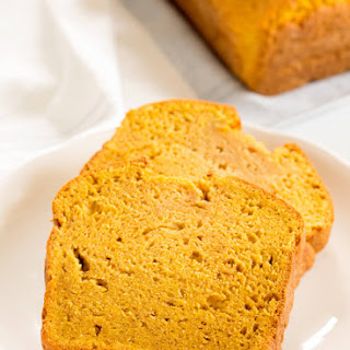 One Bowl Gluten Free Pumpkin Bread.