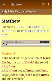 King James Bible (KJV) Audio – Apps on Google Play