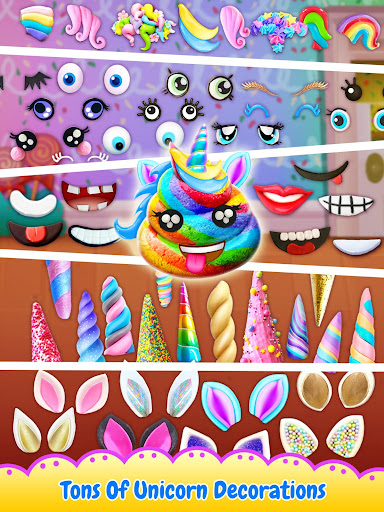 Unicorn Poop - Sweet Trendy Desserts Food Maker 1.5 screenshots 3