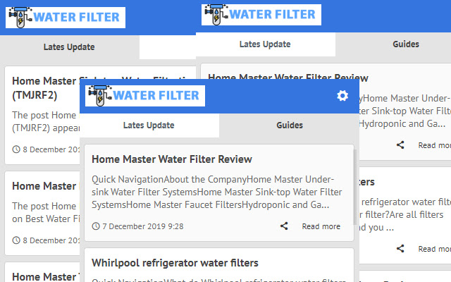 Water Filters - Latest Blog News