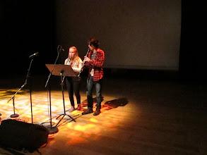 Photo: Sissal og Gwenaël til pallroynd