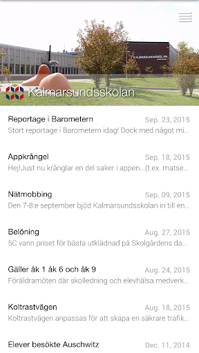 Kalmarsundsskolan screenshot 2