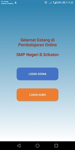 E-Learning SMPN B.Srikaton-Screenshots 2