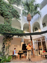Photo: Rehearsal in Winchester Mansions, Cape Town