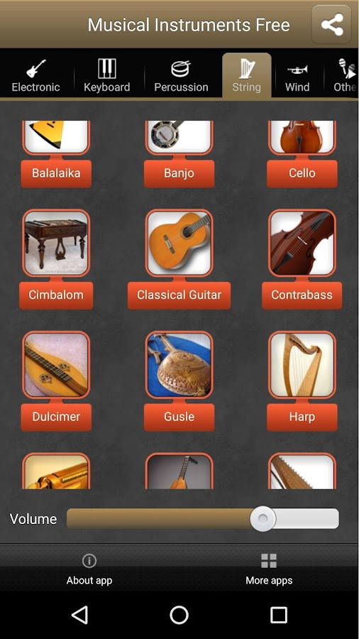 Musical Instruments Free- screenshot